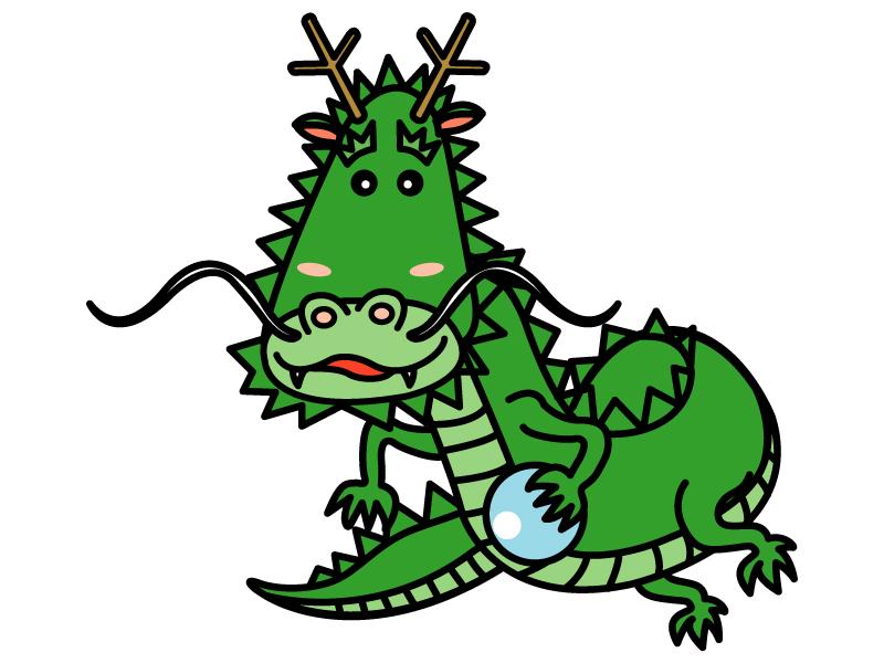 かわいい龍・ドラゴンのイラスト03