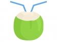 ココナッツジュースのイラスト02