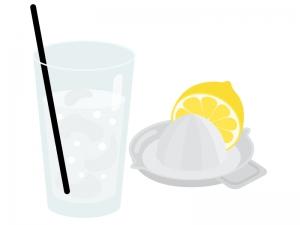 生レモンサワーのイラスト
