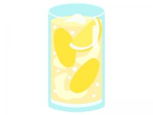 生レモンサワーのイラスト02