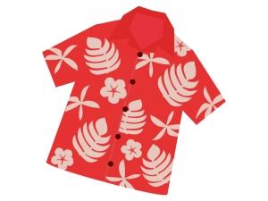 アロハシャツのイラスト02