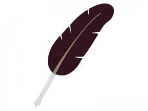 羽ペンのイラスト02