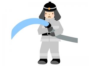 消防士のイラスト03