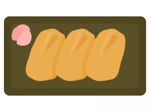 いなり寿司のイラスト