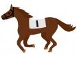 競走馬・サラブレッドのイラスト