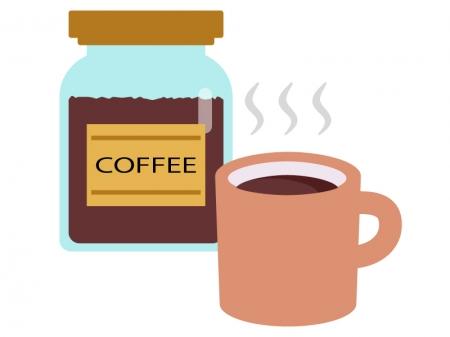 インスタントコーヒーのイラスト02