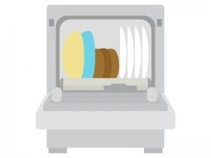 食器洗い機(食洗機)のイラスト02
