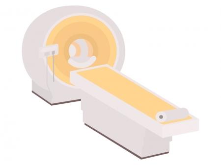 医療・MRIのイラスト