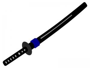 日本刀(刀剣)のイラスト02