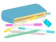 ペンケース・筆箱のイラスト02