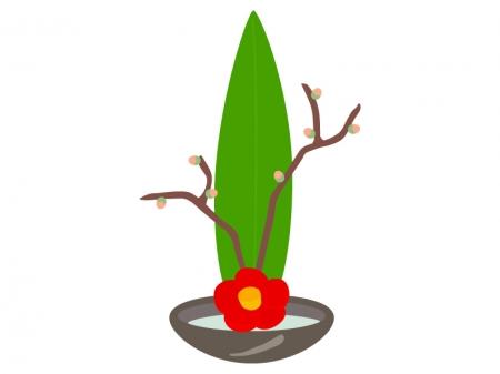 生け花のイラスト02