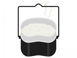 キャンプ・飯ごうのイラスト