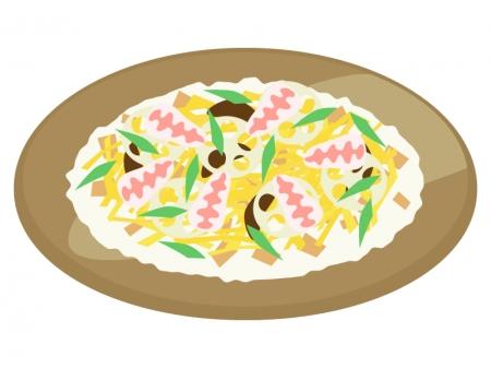 ちらし寿司のイラスト02