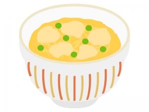 親子丼のイラスト02