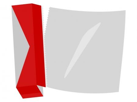 アルミホイルのイラスト02
