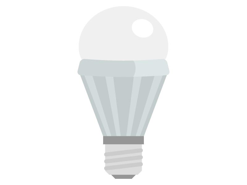 LED電球・ライトのイラスト