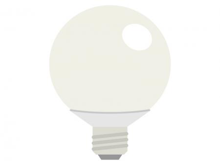 LED電球・ライトのイラスト02