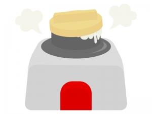 釜炊きのイラスト02