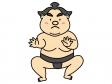 お相撲さん・力士のイラスト02