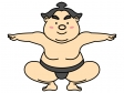 お相撲さん・力士のイラスト03