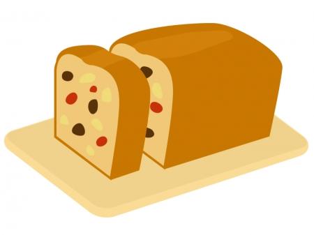 パウンドケーキのイラスト02