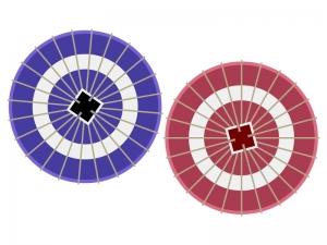 番傘のイラスト