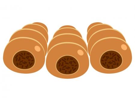 チョココロネのイラスト02