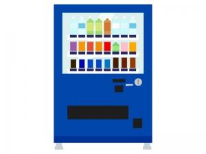 ジュースの自動販売機のイラスト02