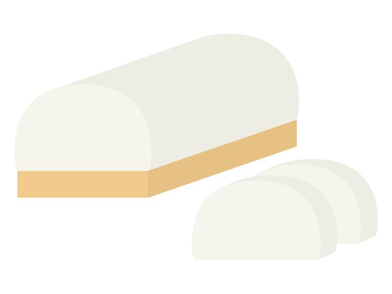 かまぼこ(蒲鉾)のイラスト02