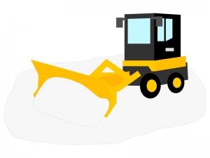 除雪車のイラスト02