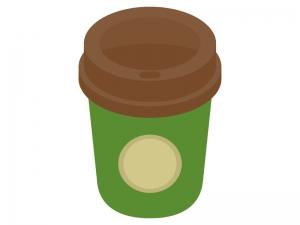 テイクアウトコーヒーのイラスト