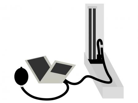 血圧計のイラスト02