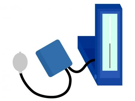 血圧計のイラスト03