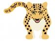 豹(ヒョウ)のイラスト02