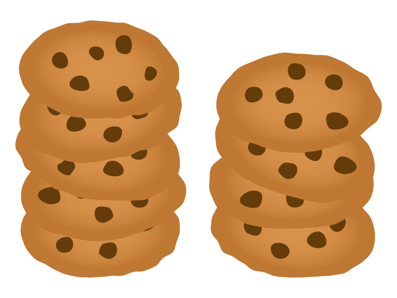 チョコチップクッキーのイラスト02