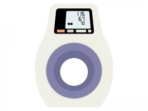 デジタルの血圧計のイラスト02