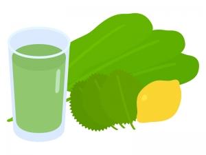 スムージー・野菜ジュースのイラスト
