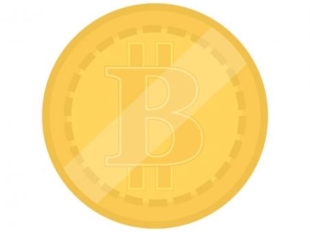 仮想通貨のイラスト