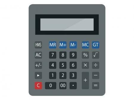 計算機(電卓)のイラスト02