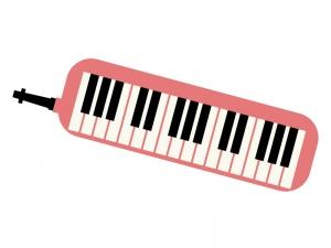 鍵盤ハーモニカのイラスト02