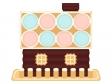 お菓子の家のイラスト02