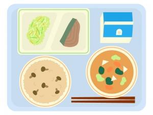 学校給食のイラスト