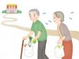 シニアの買い物難民のイラスト