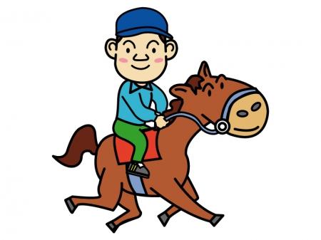 乗馬のイラスト