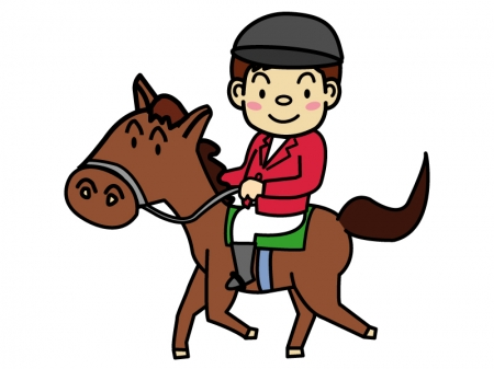 乗馬のイラスト02