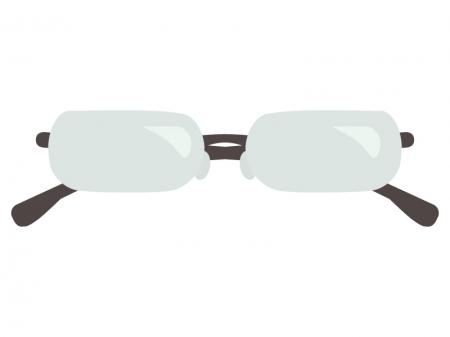 淵なしの眼鏡のイラスト02