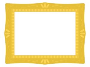 絵画の額縁フレーム・枠のイラスト