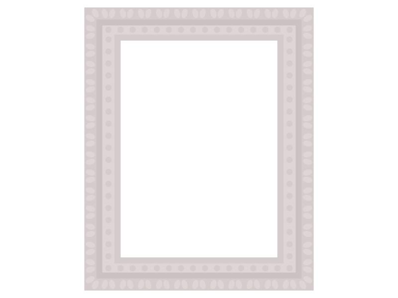 絵画の額縁フレーム・枠のイラスト02