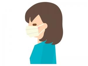 マスクをしている人のイラスト