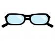 黒縁メガネのイラスト04